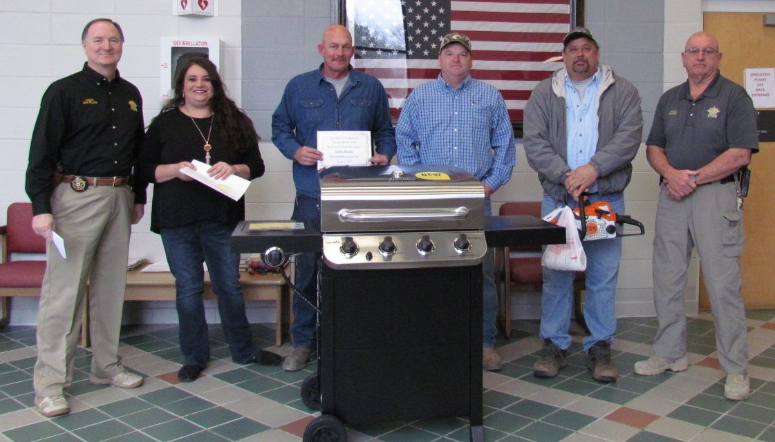 Lowndes Sheriff's Office Holds Drawing for Chad Waltman Benefit