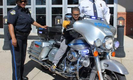 Columbus Police Department Holds Career Day