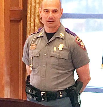 Smith Named Troop G Trooper of the Year
