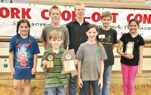 Lowndes 4-H  Team Competes in District Grilling Competition