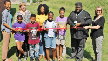 Local Boys and Girls Club Grows Community Garden