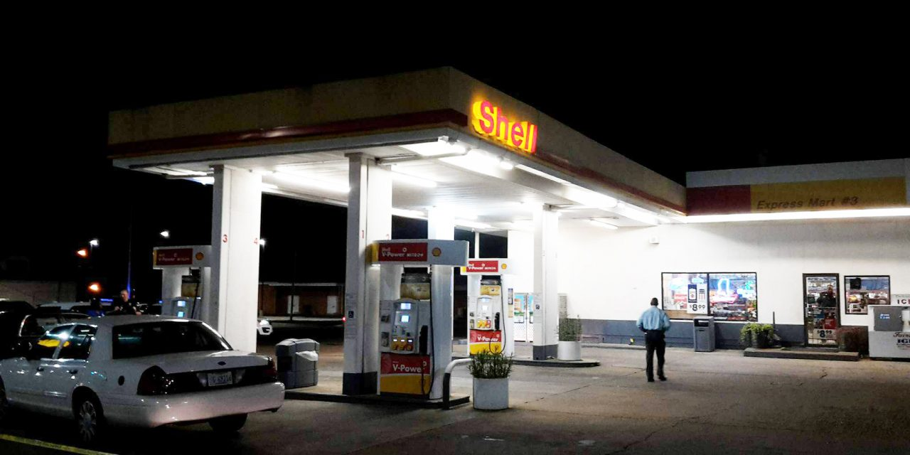 Cindy's Shell, River Hill Robbed
