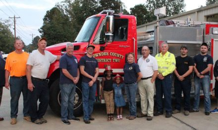 District 2 VFD Honors Child Who Called 911
