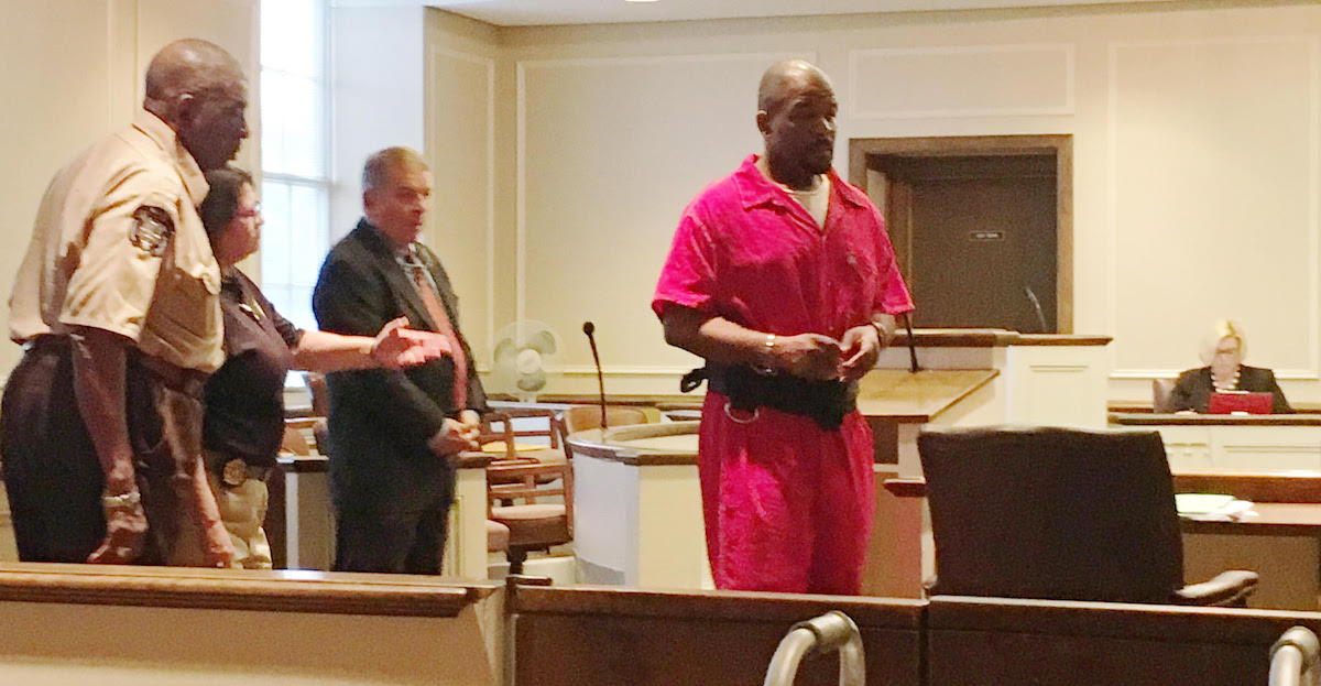 Gaston Sentenced to 3 Life Terms Plus 105 Years