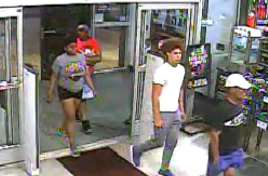 Three of Four Alleged Shoplifters Turn Themselves In