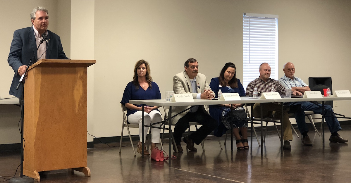 Candidates Square Off in Caledonia