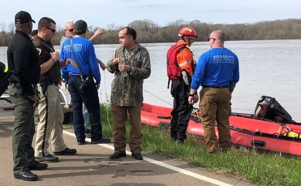 Local Rescue Teams Save 'Treed' Flood Victim in Hinds County